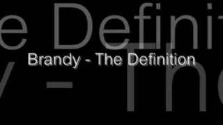 Brandy - The Definition