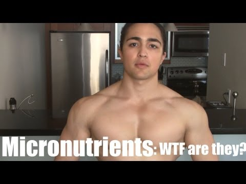 MICRONUTRIENTS: WTF? Minerals and Their Benefits (Zinc, Iron, Magnesium)