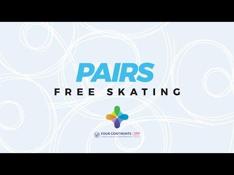 Pairs Free Skating | ISU Four Continents Figure Skating Championships | #4ContsFigure