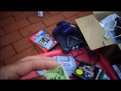 Video Games CDs Jewelry Records Toys. Flea Market Garage Yard Estate Sale Finds Pick-Ups 10/1/16