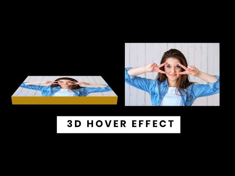 CSS3 3D Image Hover Effect | CSS Image Hover Effect