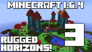 Minecraft 1.6.4 RUGGED HORIZONS! Cap.3