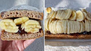 [1분완성] 무화과 바나나 샌드위치 만들기   Make…