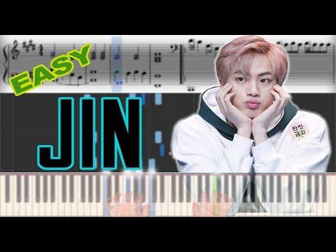 BTS JIN - Epiphany   Sheet Music & Synthesia Piano Tutorial thumbnail