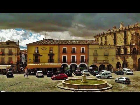 Arriving in Trujillo - SPAIN