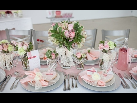 Wedding Table Decoration At Home