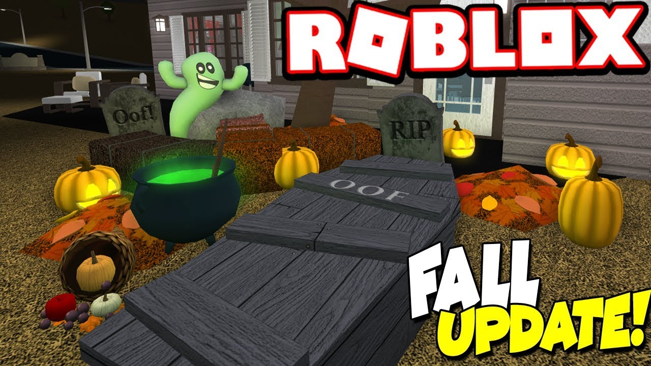 Christmas Update For Bloxburg 2020 0.7.1 THE FALL UPDATE IS HERE!!! (Roblox Bloxburg)   YouTube