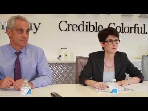 Mayor Rahm Emanuel on the budget