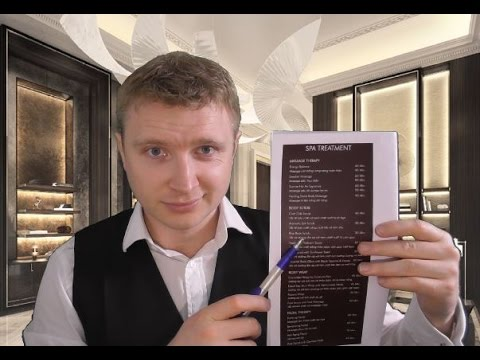 ASMR - Hotel Check-in Roleplay