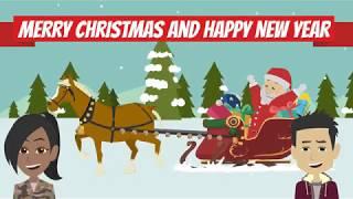 Baixar Merry Christmas And Happy New Year | Learn English Conversation | Hamza's Classroom