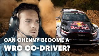 Can a TV Host be a WRC Co-Driver? | Mike Chen's WRC 2018 Part 1