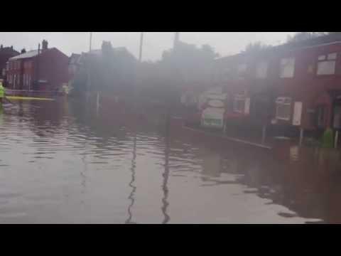 Flood at Blackbrook Ship-in