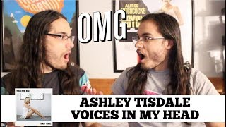 Baixar ASHLEY TISDALE - VOICES IN MY HEAD (LYRIC VIDEO) I OUR REACTION! // TWIN WORLD