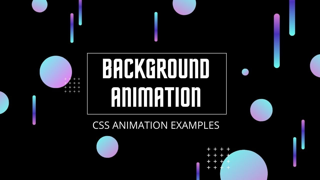 Pure CSS Animated Background | No JavaScript