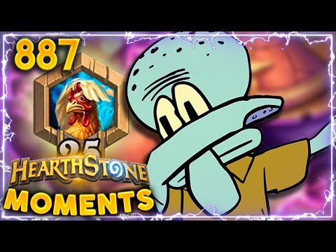 DAB ALL YOUR WAY TO RANK 25!! | Hearthstone Daily Moments Ep.887