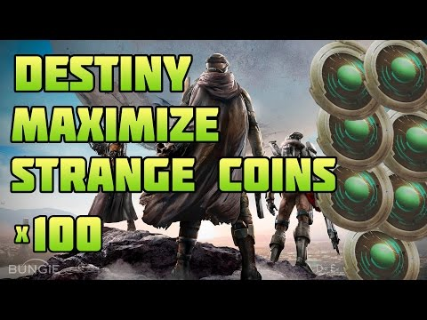 Destiny how to get lots of strange coins amp maximize each week