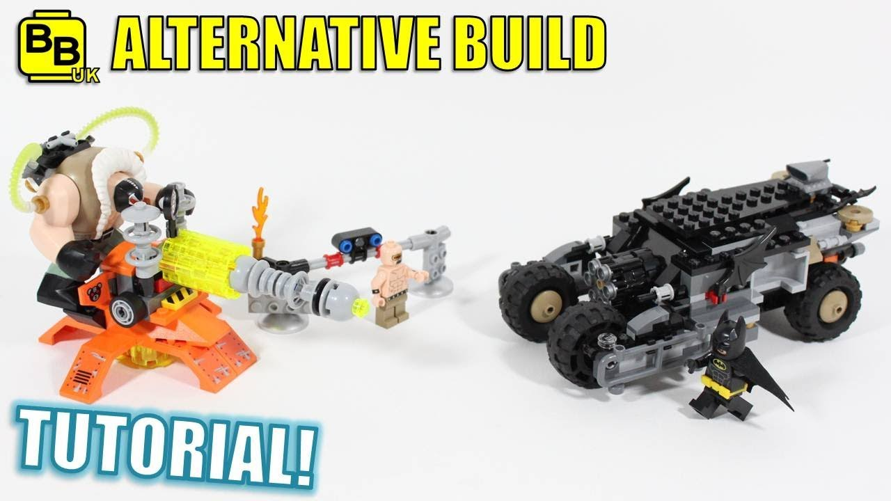 lego batman movie 70914 alternative build bane 39 s blockade. Black Bedroom Furniture Sets. Home Design Ideas