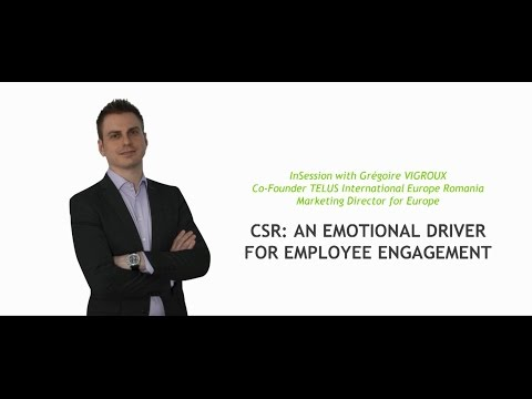 CSR – An Emotional Driver for Employee Engagement