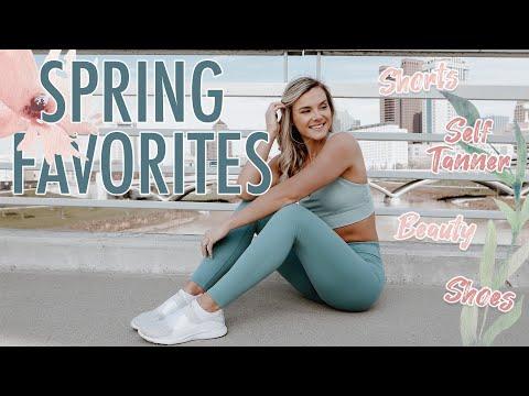 spring-favorites!-|-shorts,-shoes,-beauty,-etc!