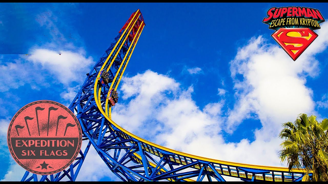 The Troubled History of Superman: The Escape - The Delayed FIRST Coaster to Reach 100 Mph