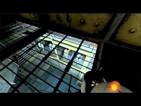 [Minor Spoiler] Portal 2's Singing Turrets (backwards)