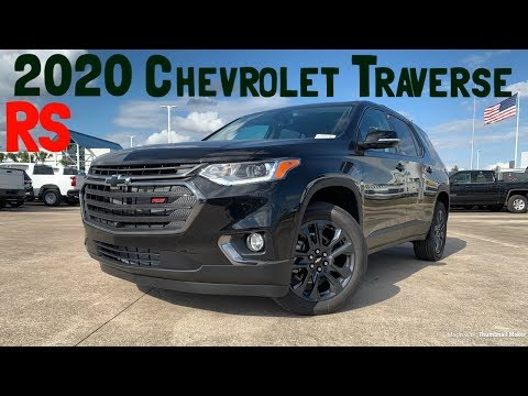 2020 Chevrolet Traverse RS 3.6L V6: Start up & Review