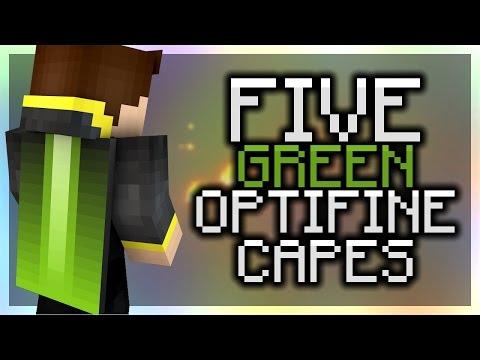 5 Green Optifine Cape Designs - Minecraft 1.9 - Cool Optifine Capes