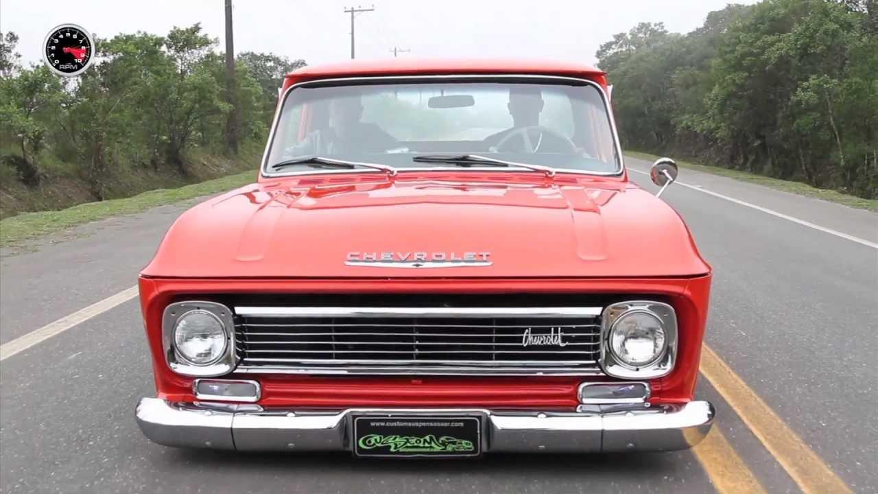 Chevrolet C-10 1971 Custom # Revista FULLPOWER - YouTube