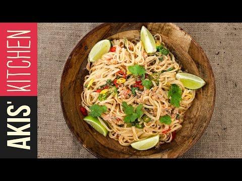 Spicy Crab Pasta | Akis Petretzikis Kitchen