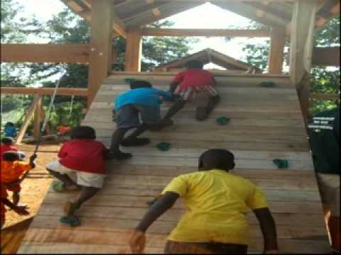 Time Out: Building Playgrounds For Orphans In Uganda