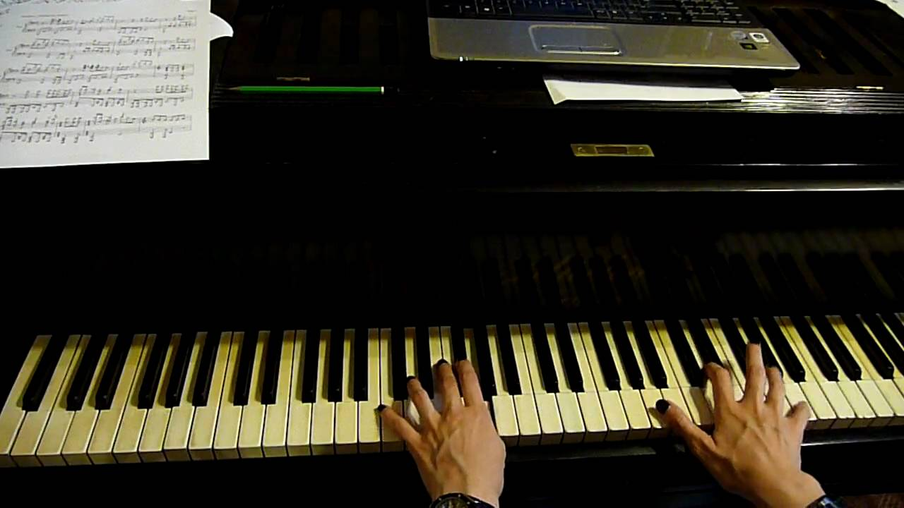 How to play the intro of Fade To Black by Metallica on piano [HD]