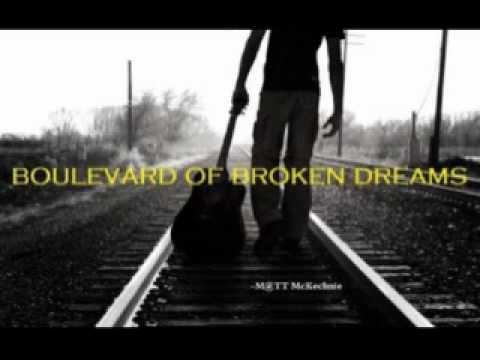 Lyrics to boulevard of broken dreams