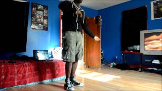Eonic Kyavu dances to Marques Houston Circles (Quick freestyle)