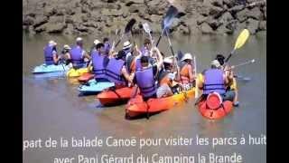 Camping la Brande Canoé2012