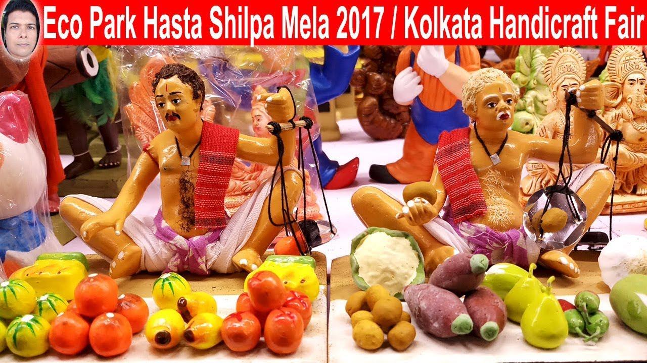 Have You Heard Eco Park Hasta Shilpa Mela 2017 Kolkata Handicraft