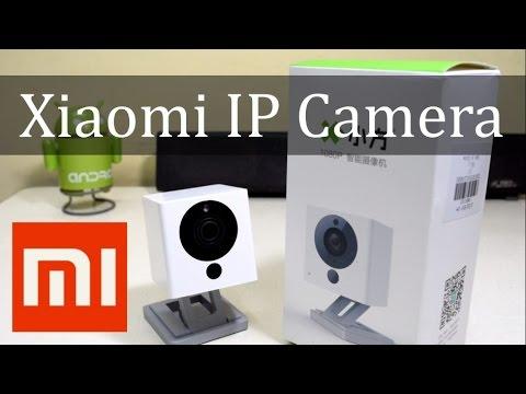 Xiaomi Smart 1080P WiFi IP Camera Unboxing Review