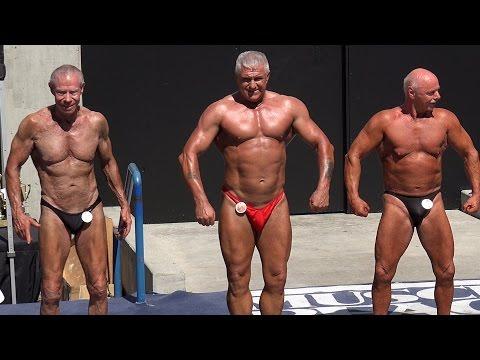 83 Year Old Bodybuilder FINALS Jim Arrington 2015