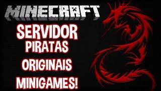 NOVO SERVER DE MINECRAFT! SIM... DÁ PARA PIRATAS! DragonUniverse