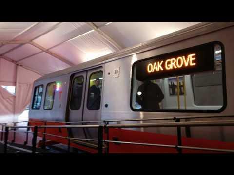 CRRC Next Generation MBTA Orange Line Demonstration car