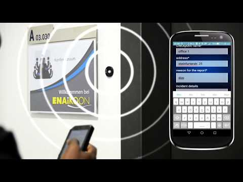 Guard Tour Manager mobile App with System Using NFC Technology