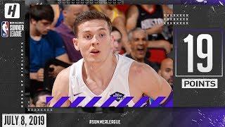Kyle Guy Full Highlights Kings vs Mavericks (2019.07.08) Summer League - 19 Pts, CLUTCH!