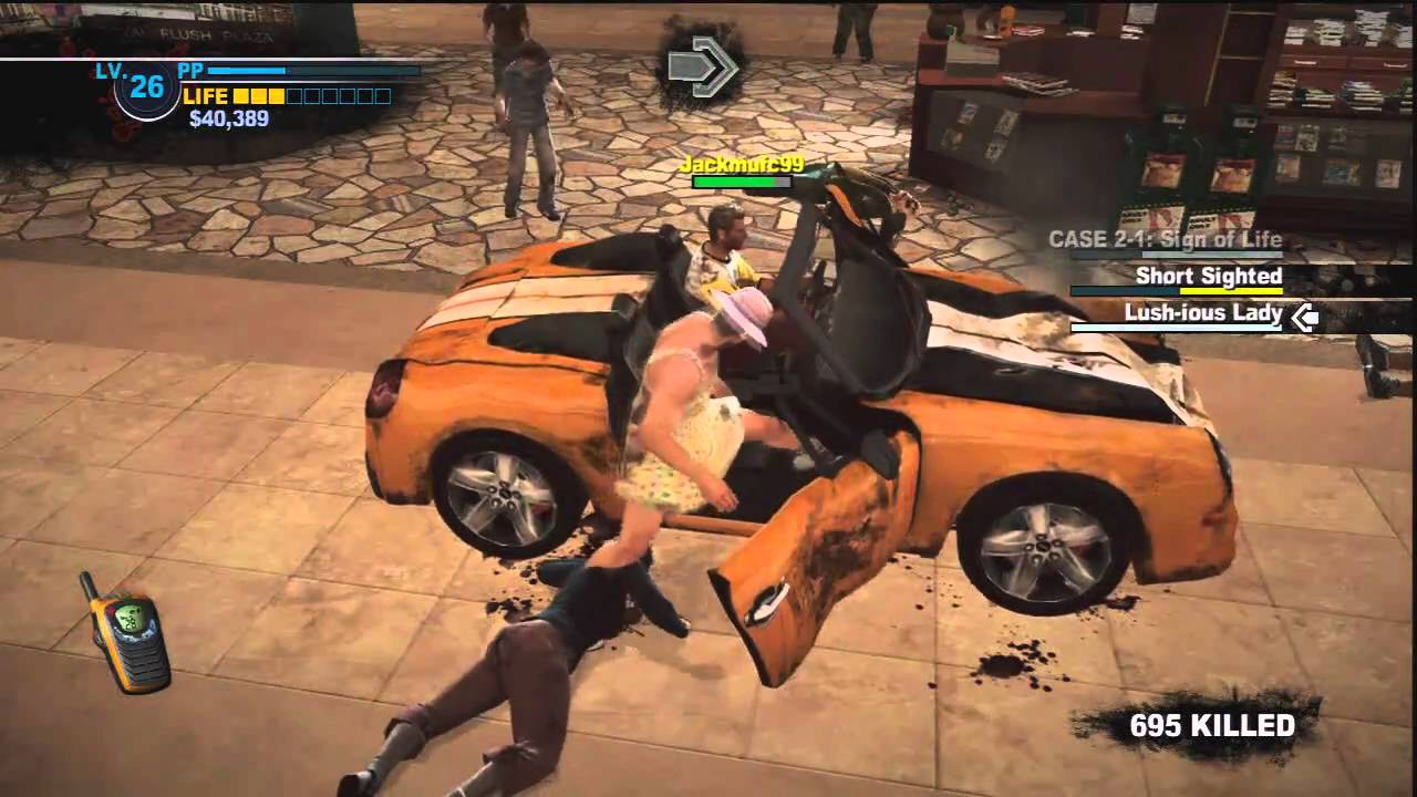 Dead Rising 2 Sports Car Unlock D Youtube