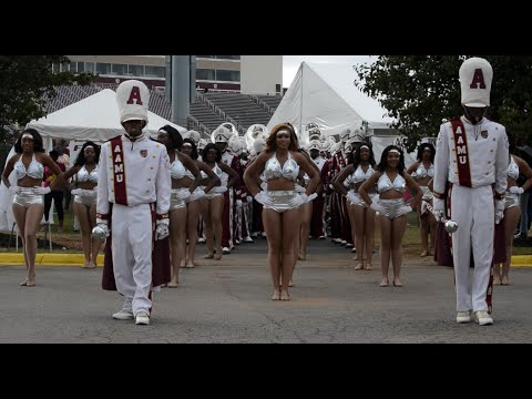 Alabama A&M University Marching Band - Exit - 2015