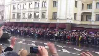 Парад 9 мая Донецк 2015