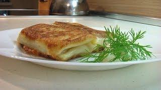 Блинчики с мясом видео рецепт