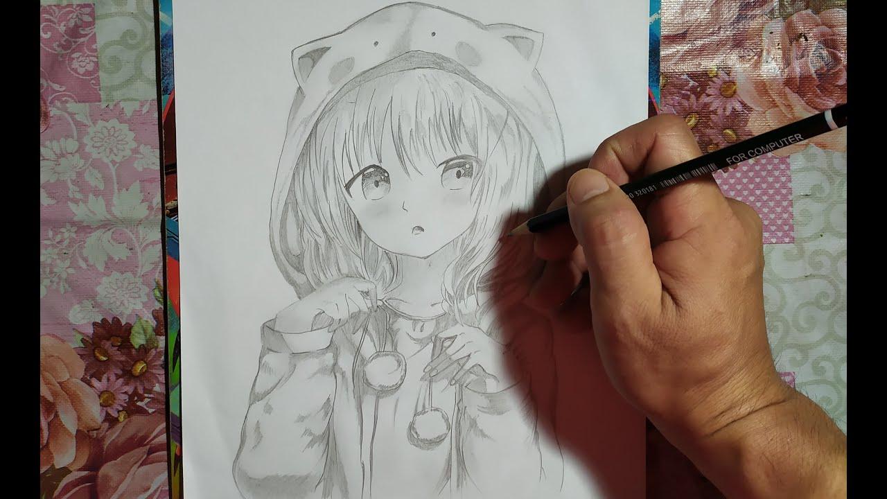 Menggambar Anime Yang Simple Youtube