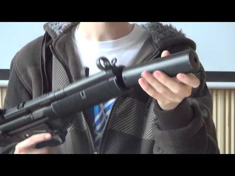AEP Classic Army Mp5 SD2 Airsoft Gun Tutorial HD