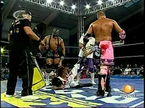 AAA: Jack Evans, Vampiro vs. Teddy Hart, Chessman, 2009/05/25
