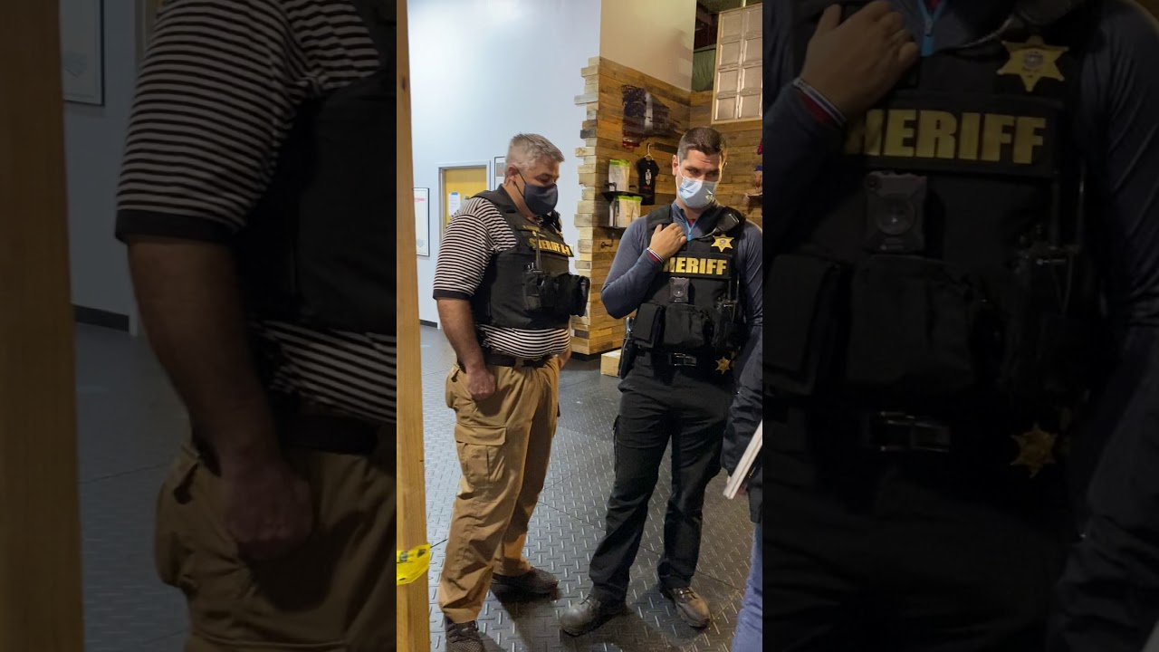 Buffalo, New York Business Owners Stand Up to Cuomo Lockdown Orders; Chase Out Sheriff & Health