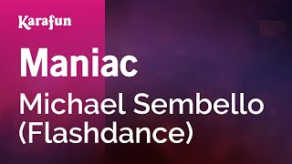 Karaoke Maniac (From Flashdance movie soundtrack) - Michael Sembello *